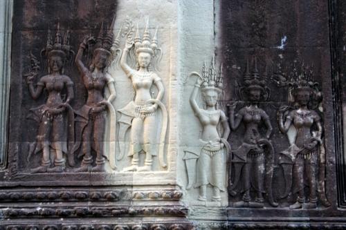 2013-01-24 Cambodia - Angkor Wat at Sunrise 046x