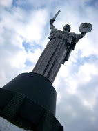 The Motherland Monument celebrating victory in WWII